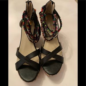 Getmorebeauty Shoes size 9(40) Wedge